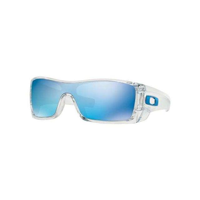 6173c1257178d Oakley - Lunettes Batwolf Clear avec verres Grey Ice Iridium - pas cher  Achat   Vente Lunettes - RueDuCommerce