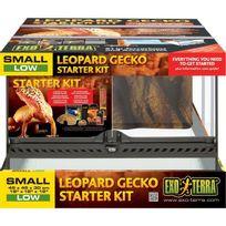 Exo Terra - Terrarium tout équipé - 45x45x30 cm - Pour gecko