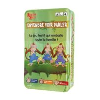 University Games - A1403940 - Jeu De Société - Voyage Entendre. Voir Et Parler