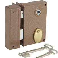 Bricard - Serrure en applique Verticale à fouillot Ouverture par clé ouvrant Gauche Axe 40 mm