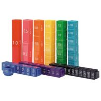 Learning Resources - Set de cubes mathématiques complets empilables