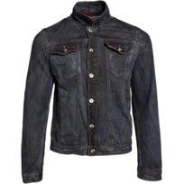 Gov Denim - Veste en jean urbain Noir Td_1005_RD M
