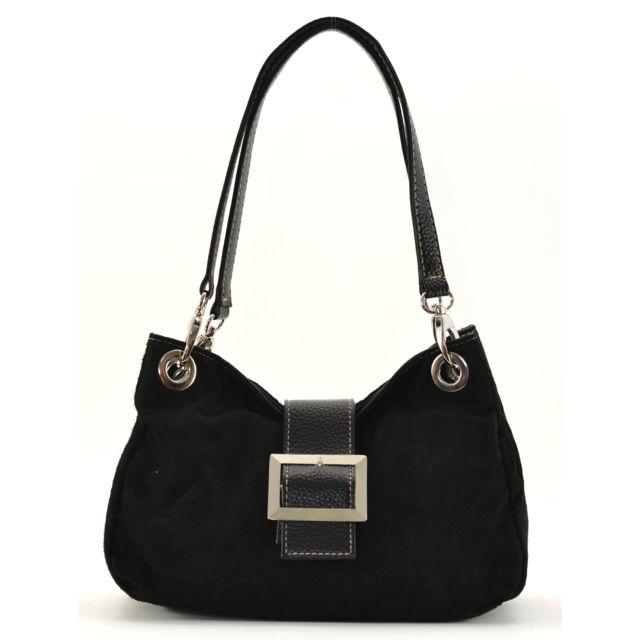 9572db2fc8 Oh My Bag - Sac à main en cuir nubuck Tango - pas cher Achat / Vente ...