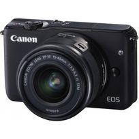 Appareil photo hybride - EOS M10 noir avec objectif 15-45mm