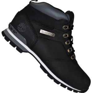 timberland boots chaussures montantes homme splitrock 2 hiker cuir noir pas cher achat. Black Bedroom Furniture Sets. Home Design Ideas