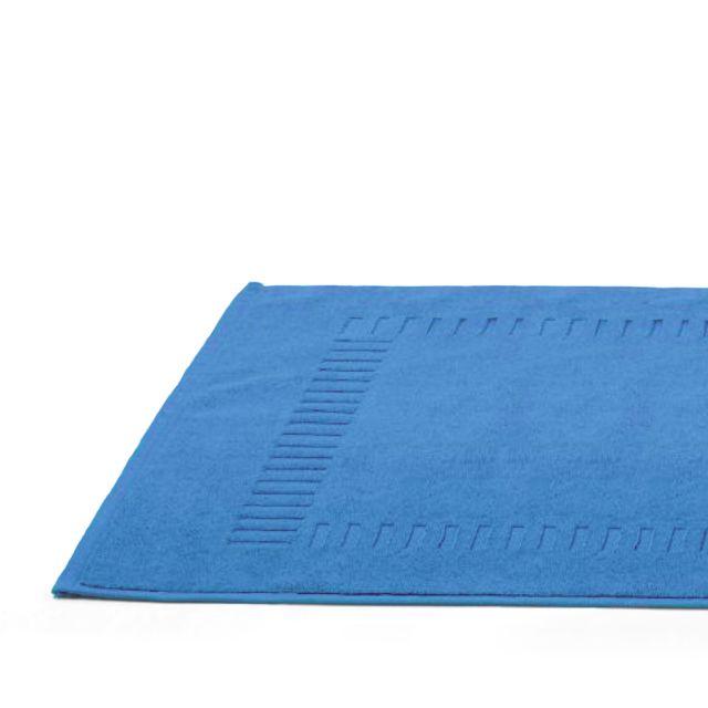linnea tapis de bain 50x70 cm pure turquoise 700 g m2 multicolore pas cher achat vente. Black Bedroom Furniture Sets. Home Design Ideas