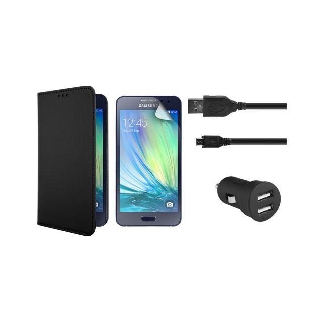Bbc - Pack de protection et de charge pour Samsung Galaxy A3