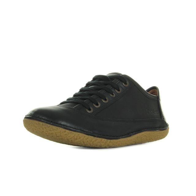 c847af7bb05 Kickers - Hollyday Noir - pas cher Achat   Vente Chaussures de ville ...