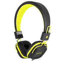 Ngs Technology - Casque stereo fluo yellow gumdrop