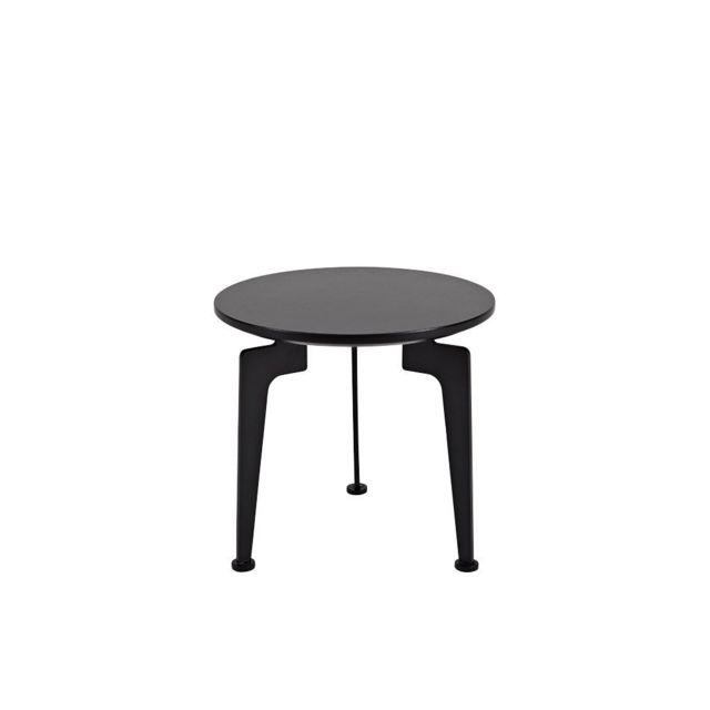 Inside 75 Table basse design Laser taille S noire