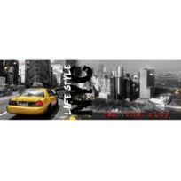 Ariane - Toiles déco imprimé New York Taxi 30 90