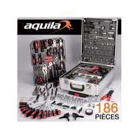 ProBache - Mallette valise outils aluminium 186 pièces trolley