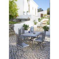 CARREFOUR - Table de jardin Mosaïque rectangulaire