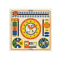 Miffy - Horloge-calendrier Multi Coloured
