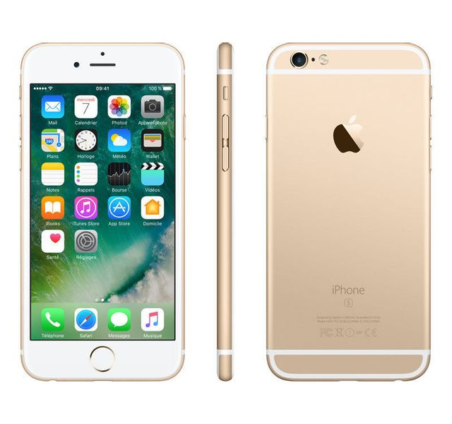 APPLE - iPhone 6S - 128 Go - Or - Reconditionné