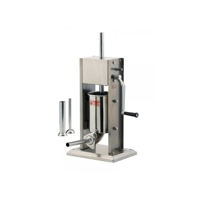 Tellier Poussoir à saucisses manuel- 3L- vertical inox