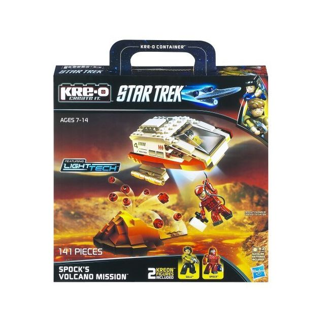 Kre-o Star Trek Spocks Volcano Mission Construction Set A3139