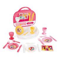Disney Junior - Dinette valise gourmande Princesses Disney