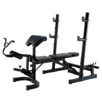 Ion Fitness - Banc de musculation. Multiple ajustements. Stabilité. Bench Fi502