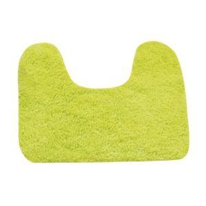 msv tapis de bain vert anis en coton pour wc et lavabo 45x35 cm plusieurs choix pas cher. Black Bedroom Furniture Sets. Home Design Ideas