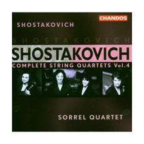 Chandos - Intégrale Vol. 4 - Quatuors N2 & N14