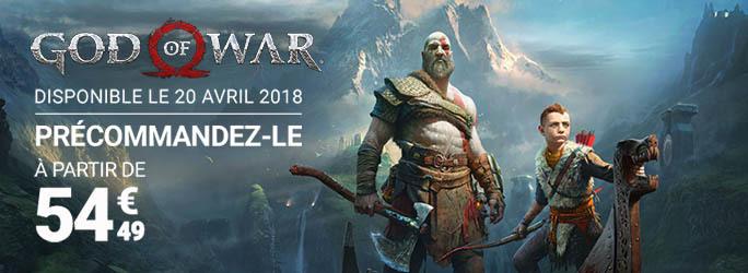 Précommande God of War 4