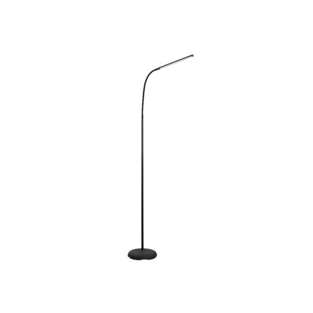 eglo lampadaire liseuse led laroa h130 cm noir pas. Black Bedroom Furniture Sets. Home Design Ideas