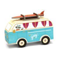 Krooom - Jouet à plier : Fold my car! : Minibus hippie