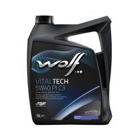 Wolf - Bidon 5 litres d'huile moteur 5W40 8303012