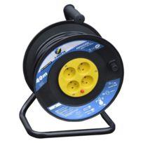 I-watts - Enrouleur électrique 40m 4 prises