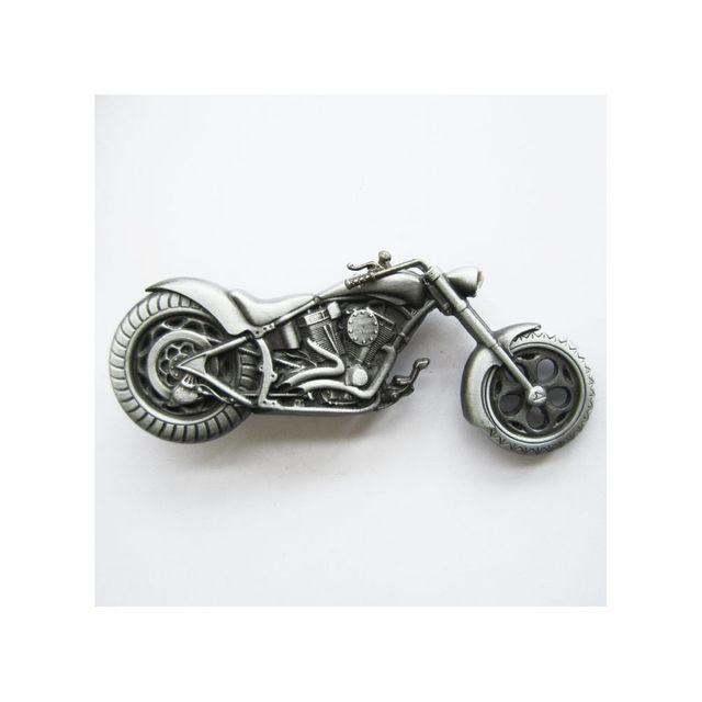 Universel - Boucle de ceinture moto chopper alu homme femme biker - pas  cher Achat   Vente Objets déco - RueDuCommerce 5020657ede2