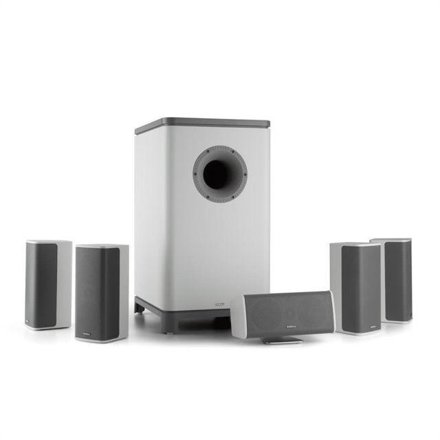 NUMAN Ambience Système surround 5.1 Subwoofer + Pack enceintes - blanc