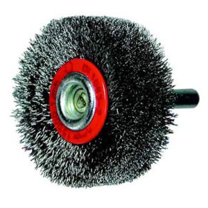Osborn - Brosse circulaire, fil acier ondulé avec tige de 6 mm 40x14x6 mm 0002503142