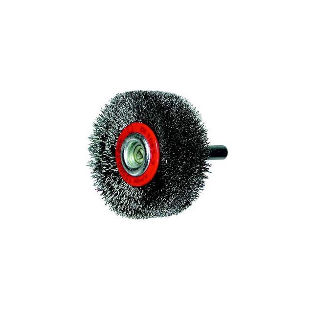 Topcar - Brosse circulaire, fil acier ondulé avec tige de 6 mm 40x14x6 mm Osborn 0002503142