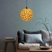 Et Boule Couleur En Base La Style BricolageAmpoule E27 Forme Lampe Bois IncluseCâble Led Non E14 Abat Bricolage De Jour tQrxsdCh