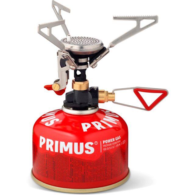 Primus Micron Trail Piezo Réchaud à gaz rouge pas