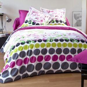 tradition des vosges parure housse de couette mandala fushia pas cher achat vente housses. Black Bedroom Furniture Sets. Home Design Ideas