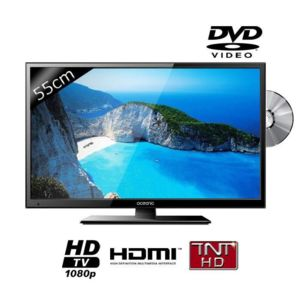 oceanic led215dvd2 tv led full hd combo dvd 55cm pas cher. Black Bedroom Furniture Sets. Home Design Ideas