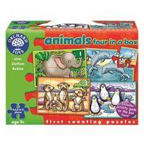 Orchard Toys - Orch220 - 4 Puzzles Classique D'ANIMAUX