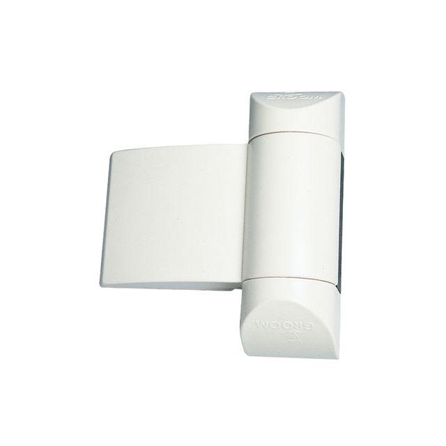 Groom fermetures ferme porte pour porte interieure groomex blanc pas cher achat vente le - Groom pour porte ...