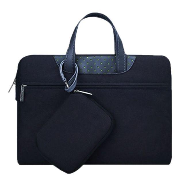 yonis sacoche pc portable 15 pouces housse macbook ordinateur antichoc noir pas cher achat. Black Bedroom Furniture Sets. Home Design Ideas