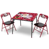 Delta Children - Minnie table et chaises pliantes