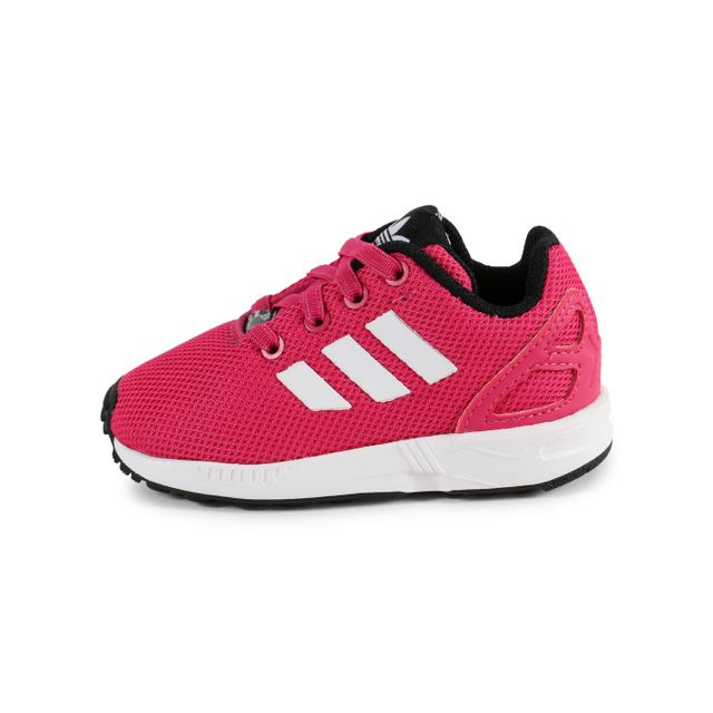 chaussure adidas zx flux rose