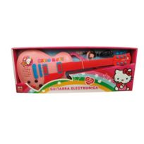Reig - 1505 - Hello Kitty - Guitare À 6 Cordes Avec Casque-microphone