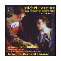 Bnl - Corrette : 6 Concertos Pour Orgue Et Orchestre