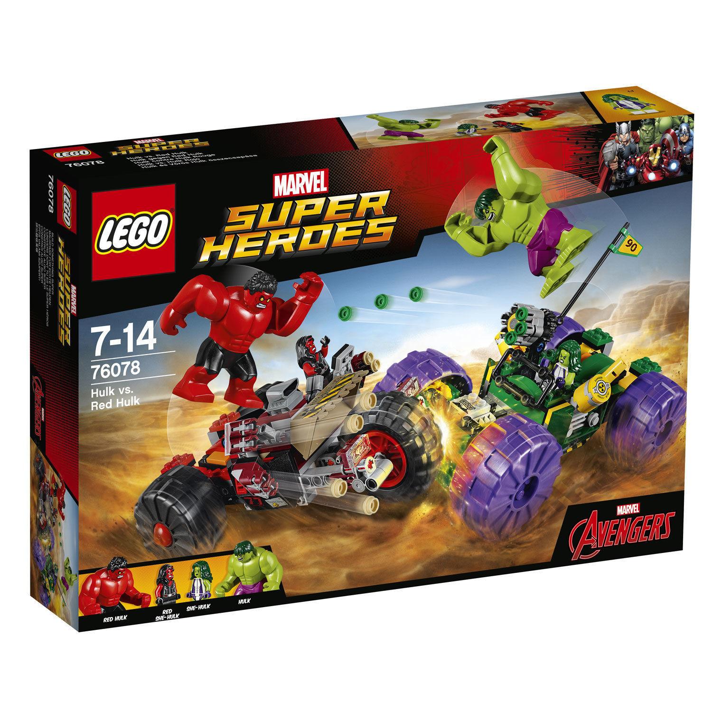 Hulk contre Hulk Rouge - 76078