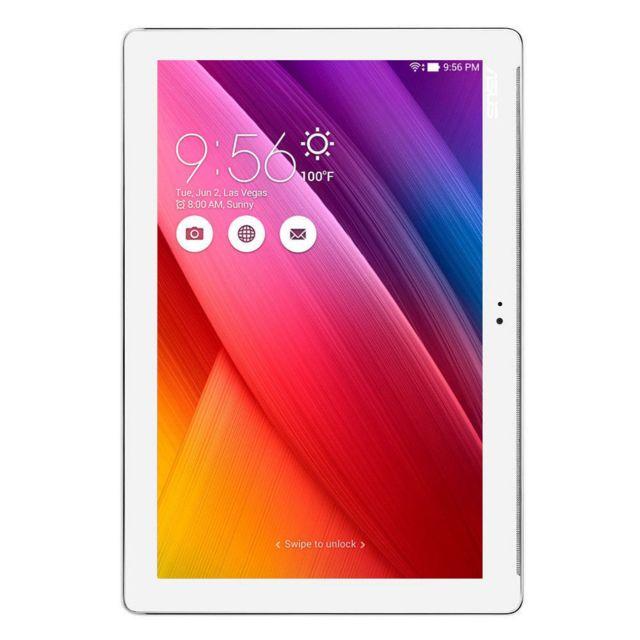 """ASUS - ZenPad 10 - 10,1"""" - 128 Go - Z300M - Blanc"""