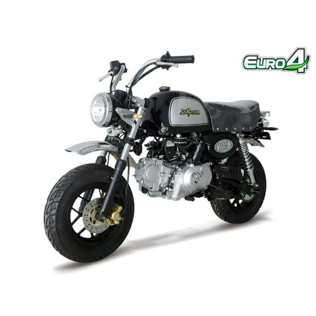 skyteam mini moto gorilla 125 noir achat vente. Black Bedroom Furniture Sets. Home Design Ideas
