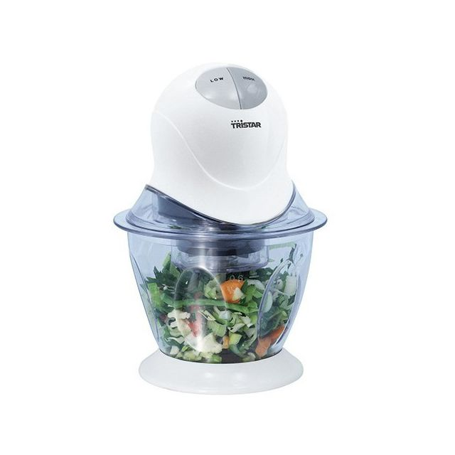 Totalcadeau Hachoir pour légumes et fruits Tristar - Ustensile cuisine