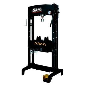 sam outillage presse hydraulique 50t avec pedale hp 50 an pas cher achat vente levage. Black Bedroom Furniture Sets. Home Design Ideas